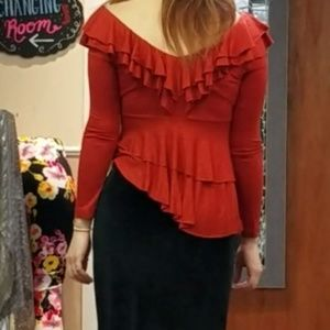 Tops - Gorgeous layered ruffle top